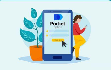 Pocket Option بروکر ٹریڈنگ میں سائن اپ اور لاگ ان کرنے کا طریقہ